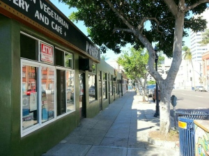 Small retail buildings constructed before ADA adopted.